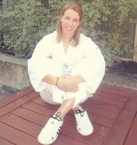 Taekwondo blogger Kristy Hitchens aka The Mortal Mouse