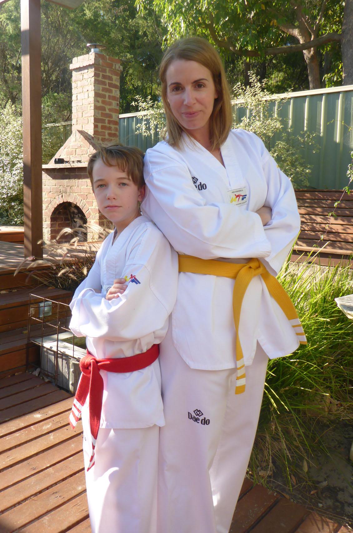 Feet karate Never fight