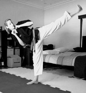 Taekwondo Mum or Taekwondo Mom Kelly