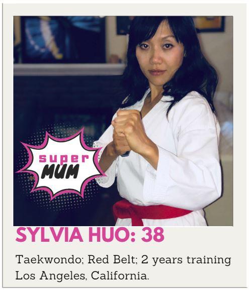 Taekwondo Mum or Taekwondo Mom Sylvia