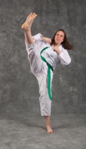 Taekwondo Mum or Mom Courtney